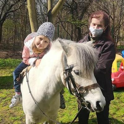 Przedszkolaki z koniem 26