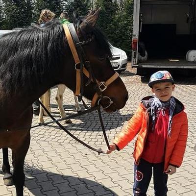 Przedszkolaki z koniem 25