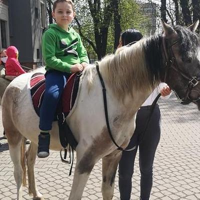 Przedszkolaki z koniem 19