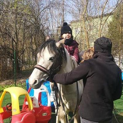Przedszkolaki z koniem 17