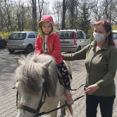 Przedszkolaki z koniem 18