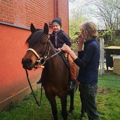Przedszkolaki z koniem 13