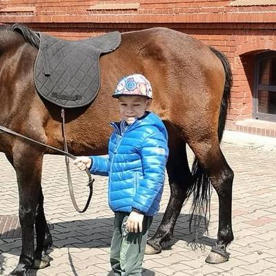 Przedszkolaki z koniem 12