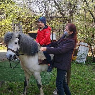 Przedszkolaki z koniem 35