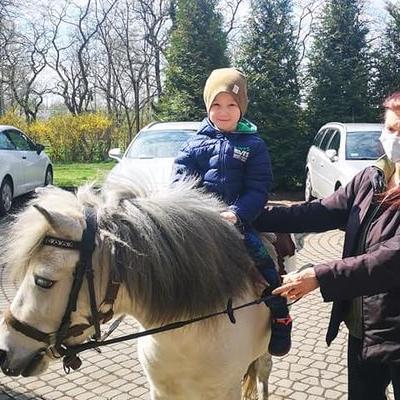 Przedszkolaki z koniem 37