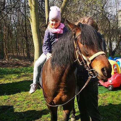 Przedszkolaki z koniem 6