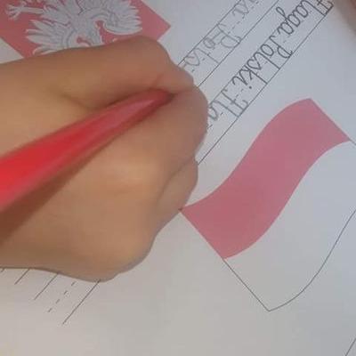 Przedszkolaki z flagą 3